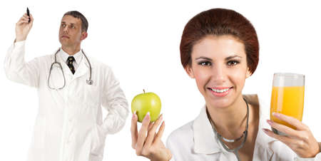 Doctors Healthy Food Diet and Nutrition Health Care photo