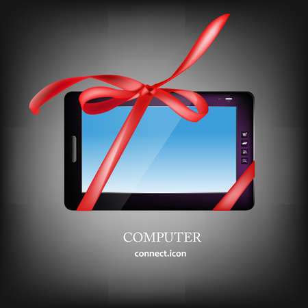 New Computer Digital Tablet Buy Vector  Vector
