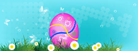 Happy Easter Holiday Vector Vector