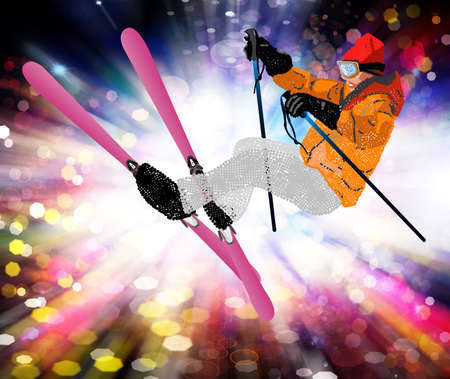 Holiday Sport Freestyle Skiing Mountain skiing Extreme Snowboarding  photo