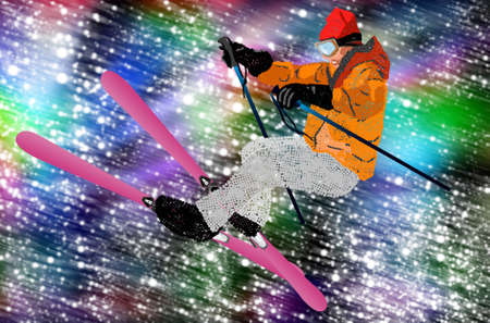 Holiday Sport Freestyle Skiing Mountain skiing Extreme Snowboarding  photo