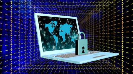 Security in Internet.Internet technology photo