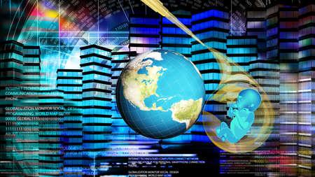 Cloning people future.Science Genetic.Globalization