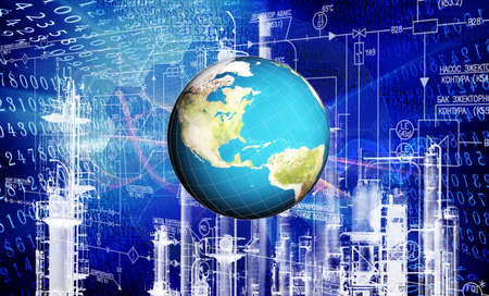 Industrial  technology Standard-Bild