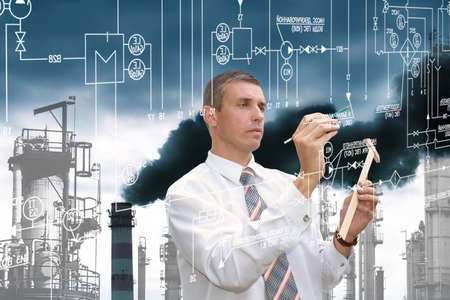 industry: Engineering industrial technology Stock Photo
