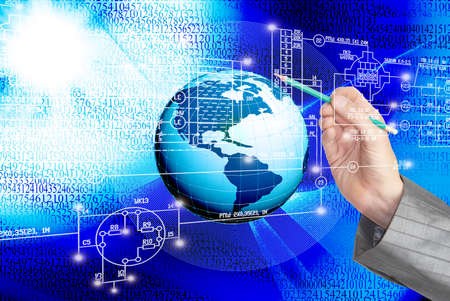 newest: The newest Internet technology Stock Photo