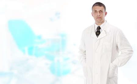 gynecologist: Female doctor gynecologist man. Profession women doctor Stock Photo