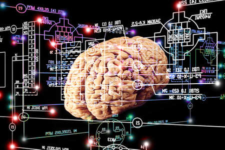 Brain engineering stock photo picture and royalty free image image 65560891 brain engineering ccuart Gallery