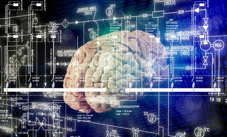 Brain engineering stock photo picture and royalty free image brain engineering photo ccuart Gallery
