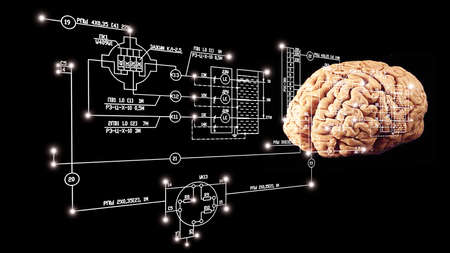 Brain engineering stock photo picture and royalty free image high engineering idea photo ccuart Gallery