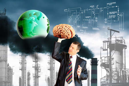 ecological disaster: Engineering human thinking green will save the planet from ecological disaster