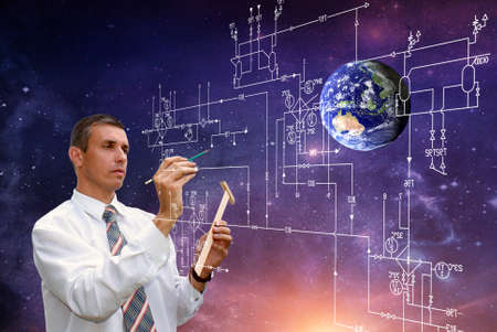 Engineering technologies in space industry