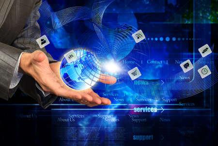 Global wireless cyber internet