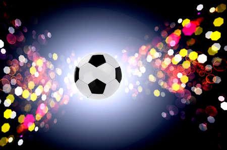 Celebration football 免版税图像