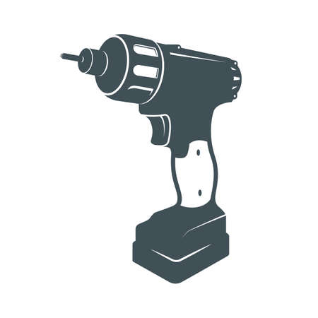 power tools: Electric Power Tools icon. Design elements. Logo