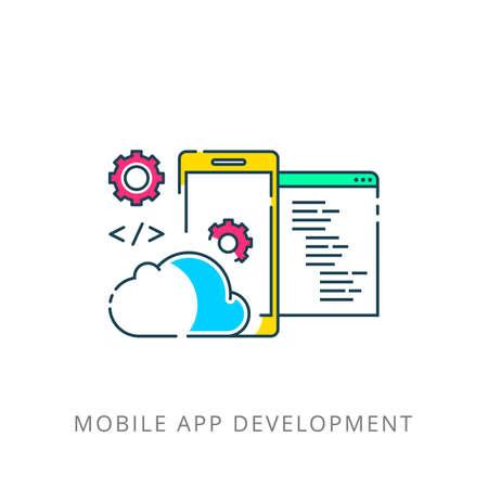 Mobile App Development, Experienced Team. Flat.