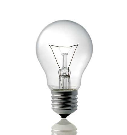 focos de luz: bombilla eléctrica Foto de archivo