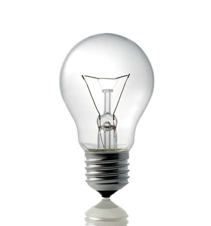 electric light bulb Stock Photo - 18677780