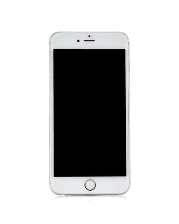 MOSCOW, RUSSIA - OCTOBER 4, 2014: New iPhone 6 Plus is a smartphone developed by Apple Inc. Apple releases the new iPhone 6 and iPhone 6 Plus