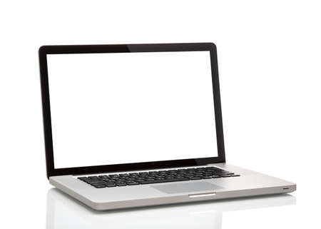 MOSCOW, RUSSIA - MAY 10 , 2014: Photo of a MacBook Pro. MacBook Pro is a laptop developed by Apple Inc. Sajtókép