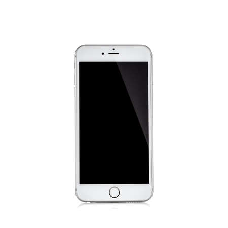 MOSCOW, RUSSIA - OCTOBER 04, 2015: New iPhone 6 s is a smartphone developed by Apple Inc. Apple releases the new iPhone 6 s and iPhone 6 s Plus Editorial