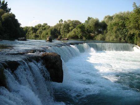 Water fall photo
