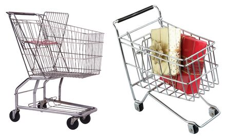 Trolley isolated on white background Stock Photo - 19610230