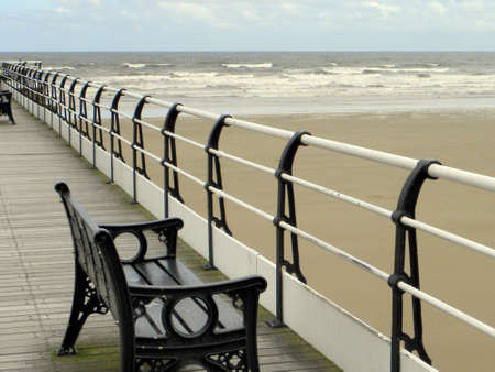 On Saltburn pier  photo