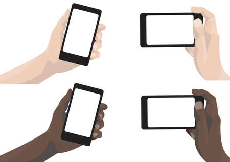 mobile phones: Camera Phones Illustration