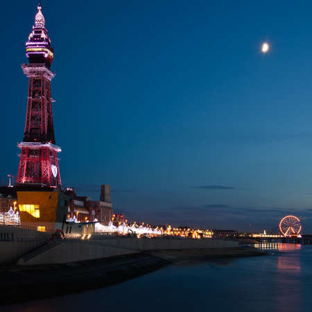 lancashire: Blackpool Tower Stock Photo