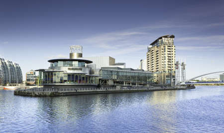 lowry: Salford Quays  Stock Photo