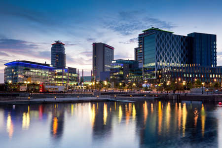 canals: Media City on Salford Quays