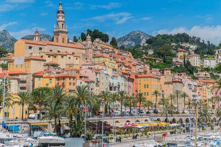 azur: Menton on the Cote d Azur