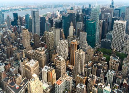 city location: Manhattan New York Stock Photo