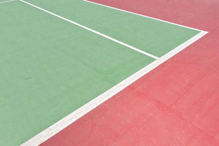 arbiter: Outdoor tennis court