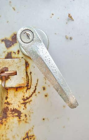 door handle: old door handle