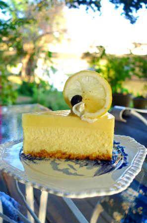 curd: Lemon Curd Cheesecake