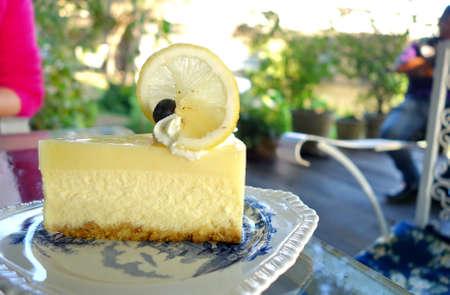 gels: Lemon Curd Cheesecake