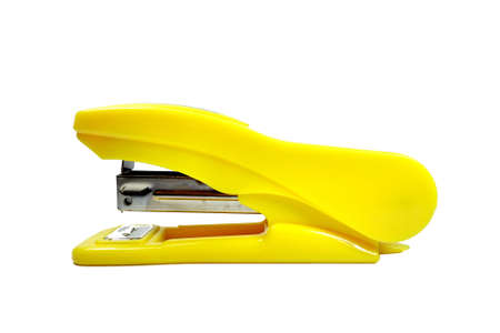 stapler isolated on a white background Stock Photo