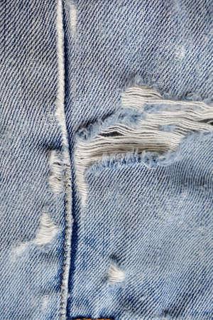 worn: Worn out denim texture Stock Photo
