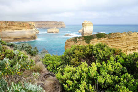 ard: Loch Ard Gorge - Great Ocean Road Stock Photo