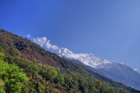 View of Annapurna range, Nepal