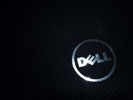 Dell Laptop Wallpaper Stock Photo Picture And Royalty Free Image