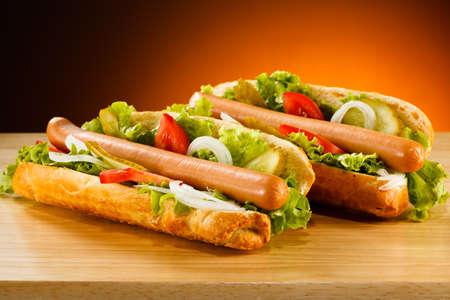 worsten: Hotdog