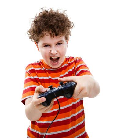 játék: Fiú segítségével videojáték vezérlő
