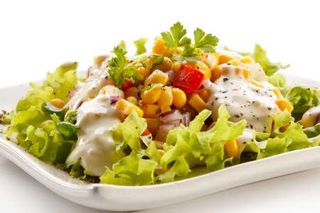 food dressing: Vegetable salad