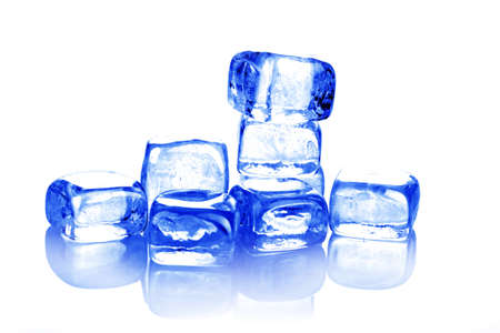 refrigerate: Ice cubes