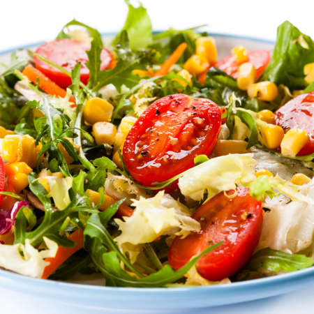 vegetable salad: vegetable salad
