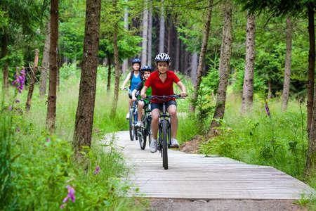 bike: Healthy lifestyle - family biking