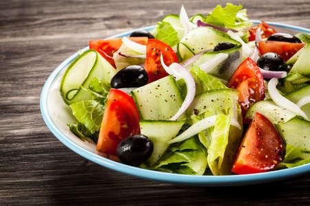 Salade grecque Banque d'images - 52493464